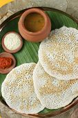 stock photo of ghee  - Set Dosa is a  - JPG