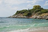 Beach on Corfu