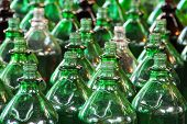 Lots of green bottles