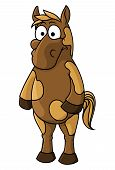 Cartoon horse character