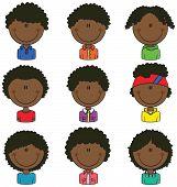 African-american Boys Avatar