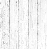 stock photo of dingy  - Background of old natural wooden dark empty room with messy and grungy crack beech - JPG