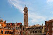 Belfry Church Santa Maria Gloriosa Dei Frari, Venice, Italy