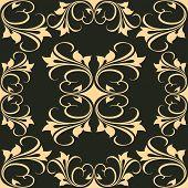 Vector Artistic Graphic Design on Black Background
