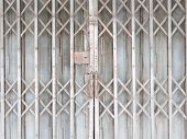 Old Horizontal Shutter Doors