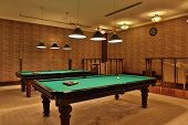 Nice Billiards Room