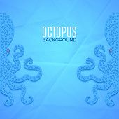 Background With Octopuses