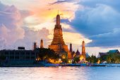 Photo Of Landscape Wat Arun Buddhist