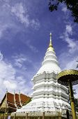 Pagoda in temple Thailand