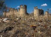 San Silvestre Castle, Noves, Castilla La Mancha, Spain