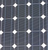 Solar Panel Closeup Texture, Industrial Equipment