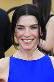 LOS ANGELES - JAN 25:  Julianna Margulies at the 2015 Screen Actor Guild Awards at the Shrine Auditorium on January 25, 2015 in Los Angeles, CA