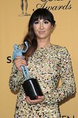 LOS ANGELES - JAN 25:  Jackie Cruz at the 2015 Screen Actor Guild Awards at the Shrine Auditorium on January 25, 2015 in Los Angeles, CA
