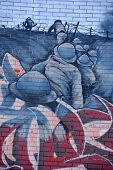 Street art Montreal WWI