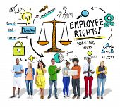 Employee Rights Employment Equality Job People Technology Concept