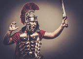 picture of legion  - Legionary soldier ready for a war - JPG