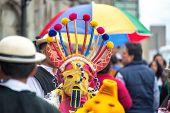 Street Festival In Quito, Ecuador