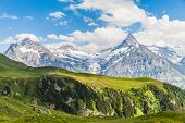 View Of Schreckhorn, Swiss Alps
