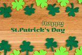 Happy St.Patrick's Day greeting card