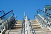 Modern Outdoor Staircase..