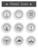 Set Of Vector Icons Travel