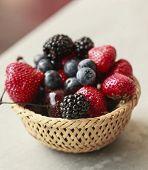 Berries In The Basket