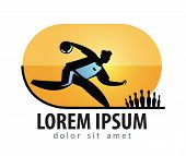 Bowling vector logo design template. sports or Bowler icon