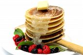 Pancake with Mixed Berry