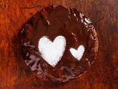 chocolate cake for valentine's day