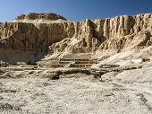 image of hatshepsut  - Funerary temple of Queen Hatshepsut pharaoh its majestic columns and dazzling today - JPG