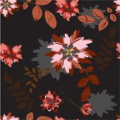 Flower Vector Seamples Illustration