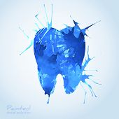 Creative Dental Icon Design.
