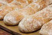 ������, ������: Baguette On Baking Sheet Dripping Pan