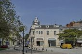 Ancient renovated building in Ruse - beauty town with varied style  West-European architecture