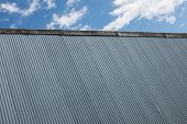 Corrugated Iron Factory Background