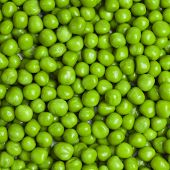 sweet green peas background