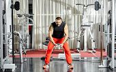 Triceps Workout At Cable Machine