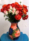 Or Yehuda Bouquet Of Roses In A Vase 2008