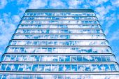 Building With Sky Reflection