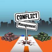 Conflict management signpost