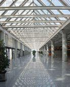 Airport Main Terminal Interior