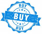 Buy Blue Vintage Isolated Seal