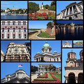 image of serbia  - Belgrade Serbia travel photo collage - JPG