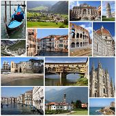 foto of italian alps  - Italy tourism attractions  - JPG