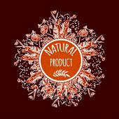 pic of cosmetic products  - Label for natural cosmetic products - JPG