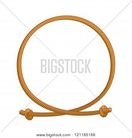 Rope Loop Frame Rope Rope