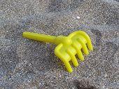Yellow Toy Rake poster