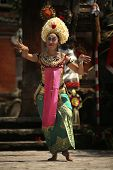 Traditional Bali dance: the Queen