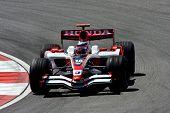 Takuma Sato of Super Aguri F1 team 2008