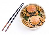 Steamed Chinese Lake Crab